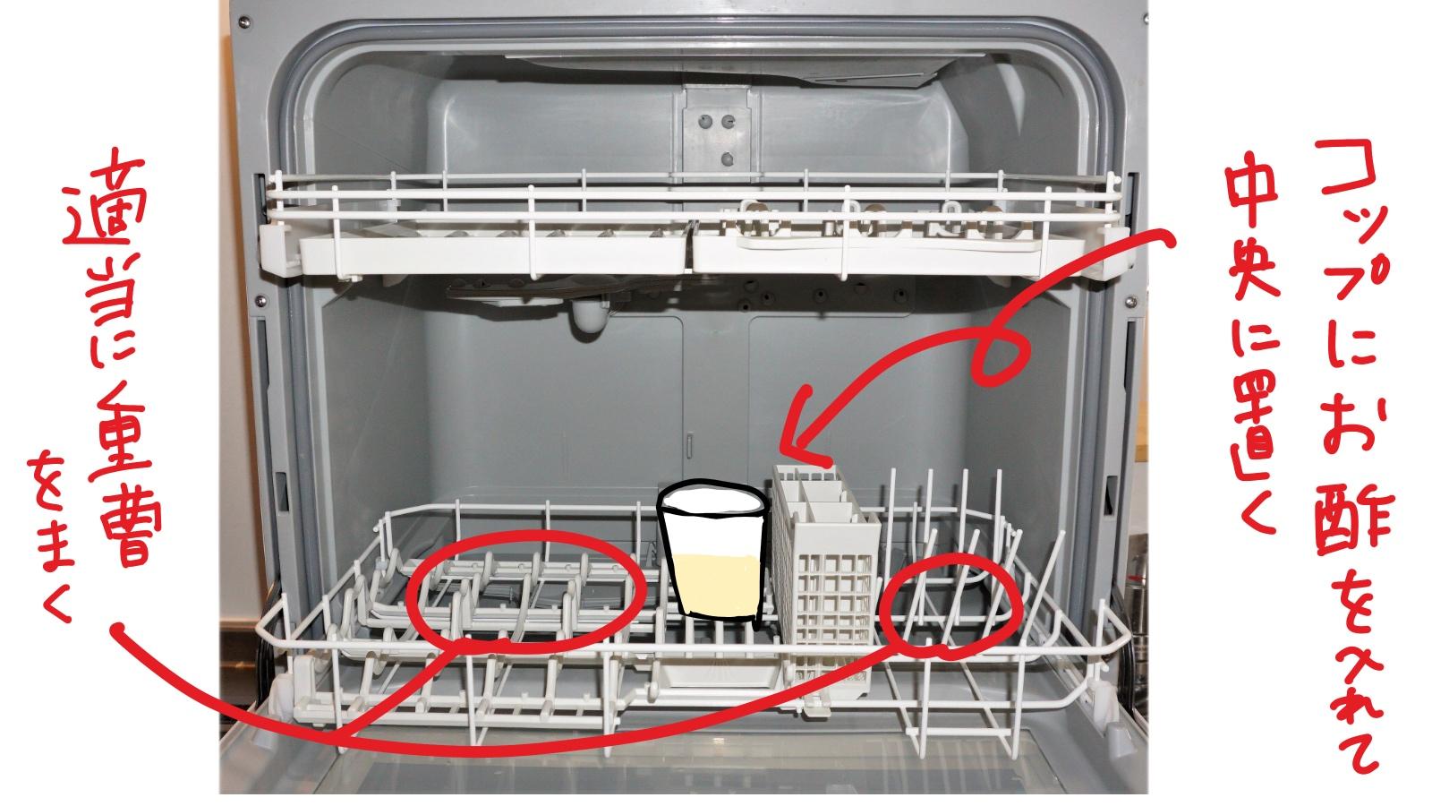 食洗機の匂い消し